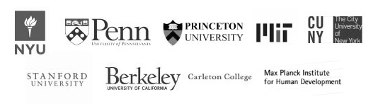 Researchers using psiturk are found at these great universities!